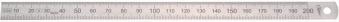 Biegsamer Stahlmaßstab 500x20x0,5mm 1/2 HP Bild 1
