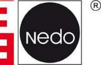 Messfix mit Messdorn 0,80-3,10 m Nedo Bild 2