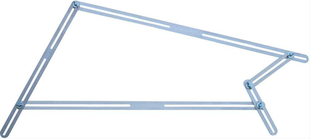 Treppen-Winkelschablone 48 Schienen T512 HEDUE Bild 1