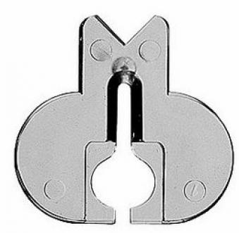 Bosch Spanreißschutz für Stichsägen / Zubehör 5 Stück Bild 1