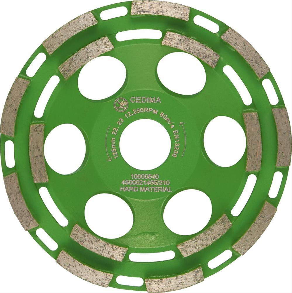 Dia.-Schleifteller EC 73 125mm, 30x7x6,5mm Cedima Bild 1
