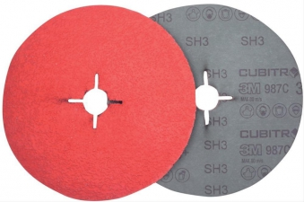 Fibersch.Cubitron II 987C115mm P080+ 3M Bild 1