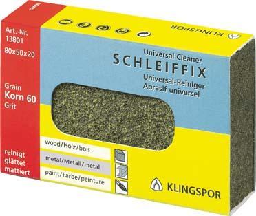 Handschleifklotz SFK655 K120 80x50x20mm Klingspor Bild 1