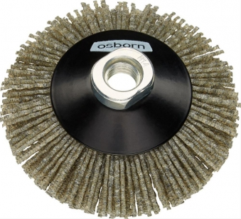 Kegelbürste Schleifnylon 100mm, H 20mm Osborn Bild 1