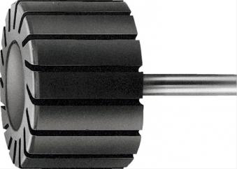 Schleifbandkörper zyl. 45x30mm 6mm-Schaft Pferd Bild 1