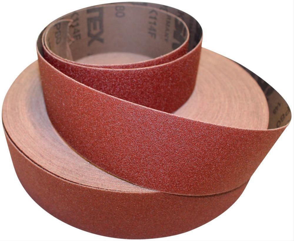 Schleifgewebe Sparrolle 115mm K 40 VSM Bild 1