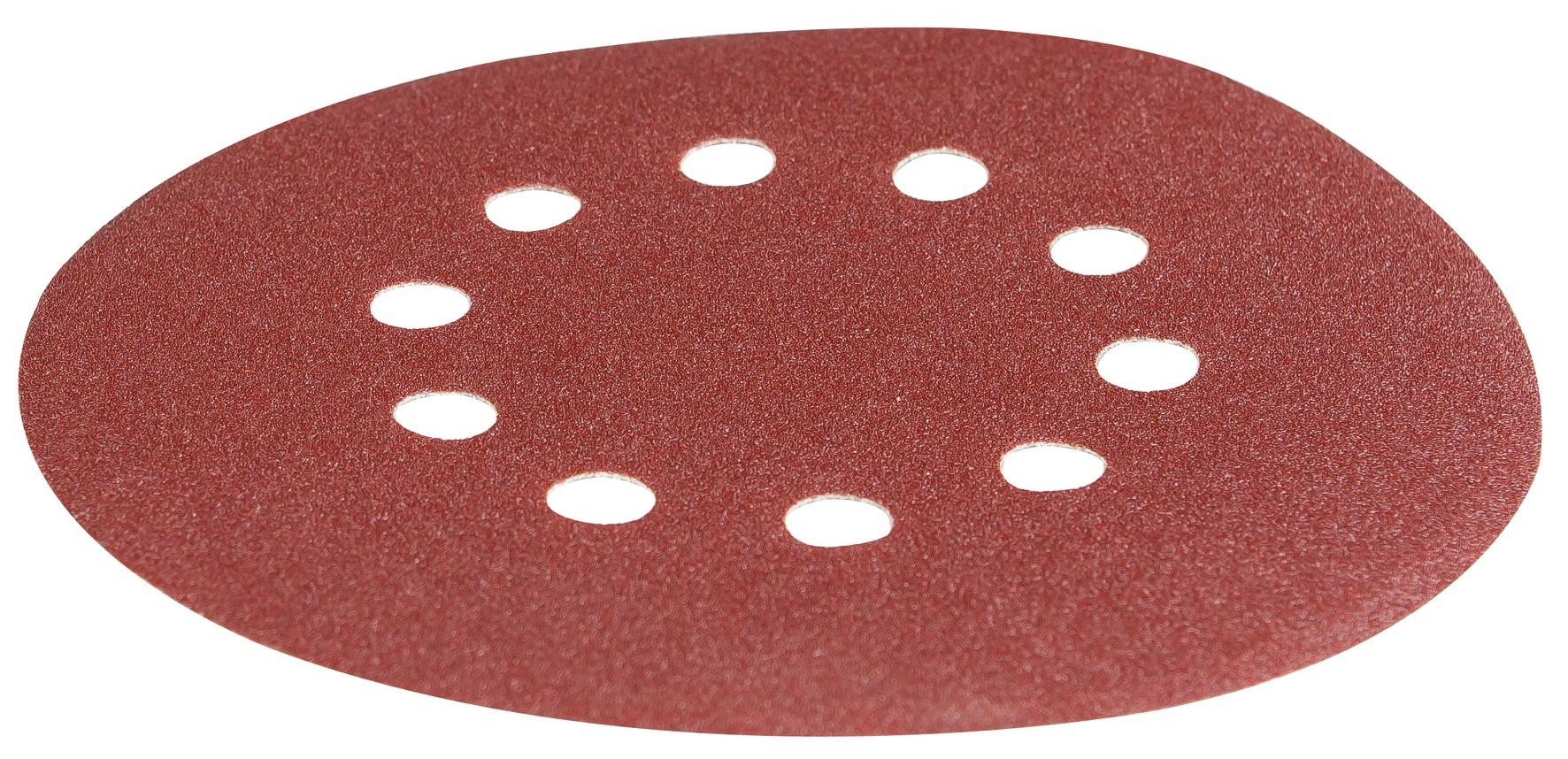 Schleifpapier Ø 215 mm K 120 Scheppach Trockenbauschleifer Bild 1