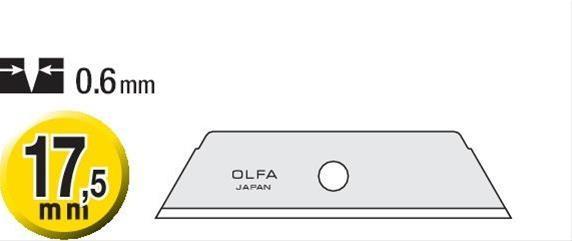 Ersatzklinge a 5 Stück SKB-2/5 OLFA Bild 1