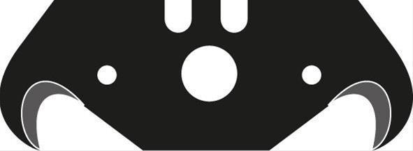 Hakenklinge a 10 Stück Black 0,65mm Lutz Bild 1