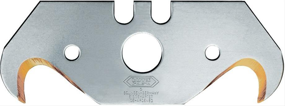 Hakenklinge a 10 Stück TIN 0,65mm Lutz Bild 1