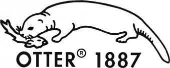Industriemesser Inox 175mm i. Etui Otter Bild 2