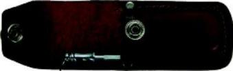 Industriemesser Inox 175mm i. Etui Otter Bild 3
