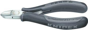 Elektr.-Seitenschneider 115mm Form 2 ESD Knipex Bild 1