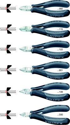 Elektr.-Seitenschneider 115mm Form 2 ESD Knipex Bild 5