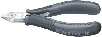 Elektr.-Seitenschneider 115mm Form 4 ESD Knipex Bild 1