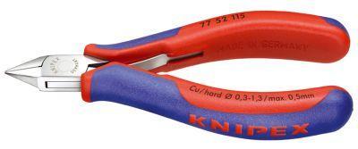 Elektr.-Seitenschneider 115mm flacher Kopf Knipex Bild 1