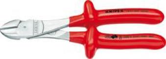 Kraft-Seitenschneider VDE200mm tauchisol. Knipex Bild 1