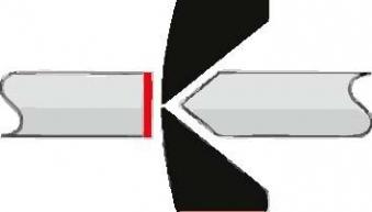Kunstst.Seitenschneider 140mm ohne Facette Knipex Bild 3