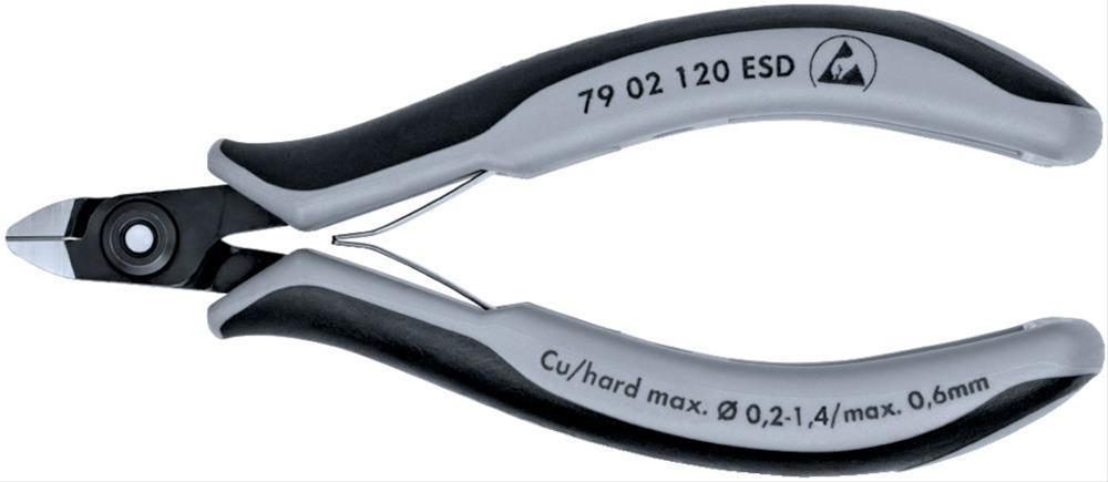 Präz. Seitenschneider 120mm Nr.7902 ESD Knipex Bild 1