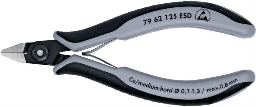 Präz. Seitenschneider 125mm F4 K.sp.ESD Knipex Bild 1