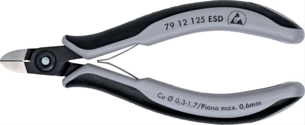 Präz. Seitenschneider 125mm pol.2K-Hülle Knipex Bild 1