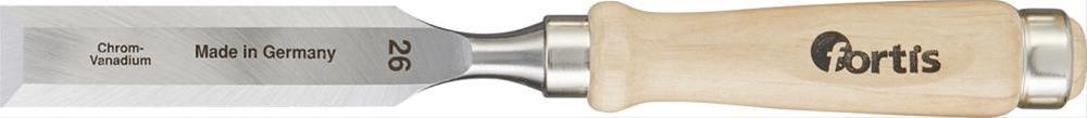 Stechbeitel mit Holzheft 6mm FORTIS Bild 1