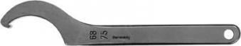 Hakenschlüssel DIN1810A 80- 90mm m.Nase AMF Bild 1