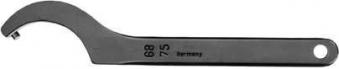 Hakenschlüssel DIN1810B 52- 55mm m.Zapfen AMF Bild 1