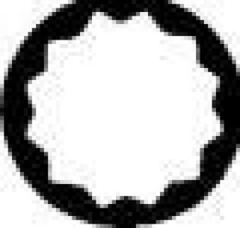 Zugringschlüssel gekröpft 24mm Gedore Bild 3
