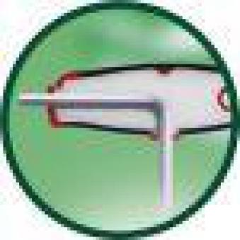 Quergriff-Schraubendr. 5 mm Seitenabtrieb Wiha Bild 4