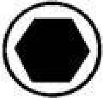 Kugelk.Winkelschr.Dr. L 3 x 125 mm Wiha Bild 4