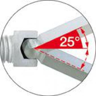Winkelschraubendr. L. 2 mm Kugelkopf Wiha Bild 3