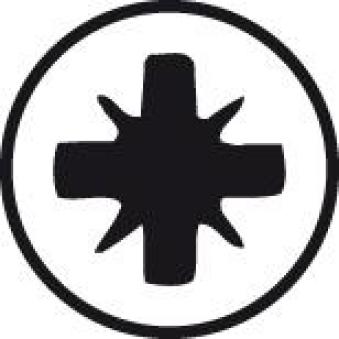 Kreuzs.Schraubendr. SF PZ 1 x 80mm Wiha Bild 3
