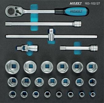 Werkzeugmodul 163-102/27 Steckschlüssel Hazet Bild 1