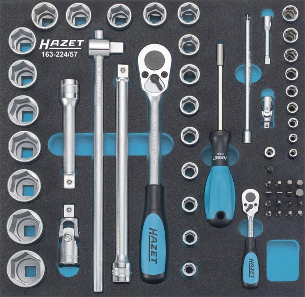 Werkzeugmodul 163-224/57 Steckschlüssel Hazet Bild 1