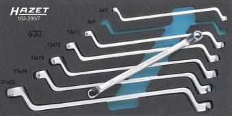 Werkzeugmodul 163-296/ 7 Doppelringschlüssel Hazet Bild 1