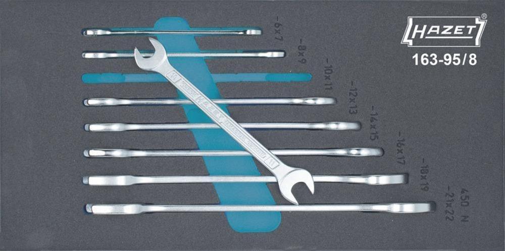 Werkzeugmodul 163- 95/ 8 Doppelmaulschlüssel Hazet Bild 1