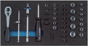 Werkzeugmodul CT1/3 Steckschl.satz1/4