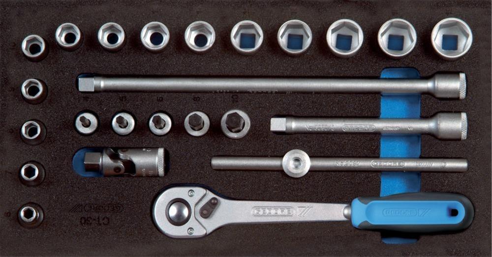 Werkzeugmodul CT1/3 Steckschl.satz3/8