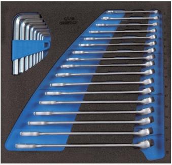 Werkzeugmodul CT2/3 Ring-Maulschl. ger.Gedore Bild 1