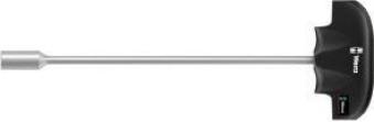 Steckschlüssel T-Griff 8 x230mm 6kt. Wera Bild 1