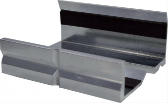 Alu-Prismenbackenpaar 150mm Scangrip Bild 1