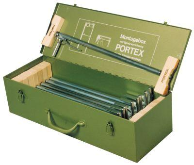 Montagebox m.9 Portex-Spreizen Bild 1