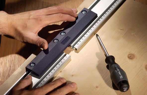 Linealverbinder / Linealverlängerung KWB Line Master Bild 1