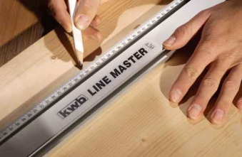 Präzisionslineal 1000 mm KWB Line Master Bild 1