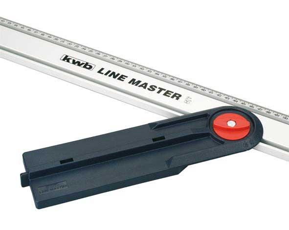 Winkelanschlag für KWB Line Master Präzisionslineal Bild 1