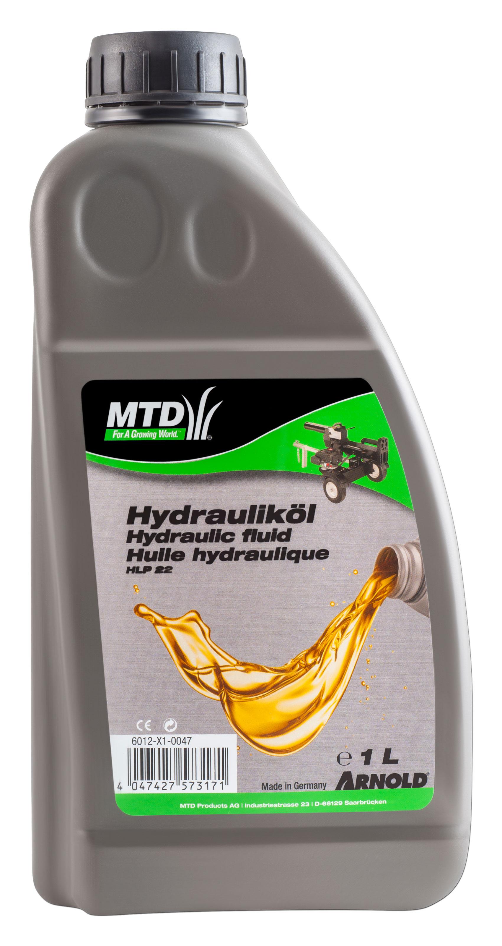 Arnold Hydrauliköl HLP22 für Holzspalter 1 Liter Bild 1