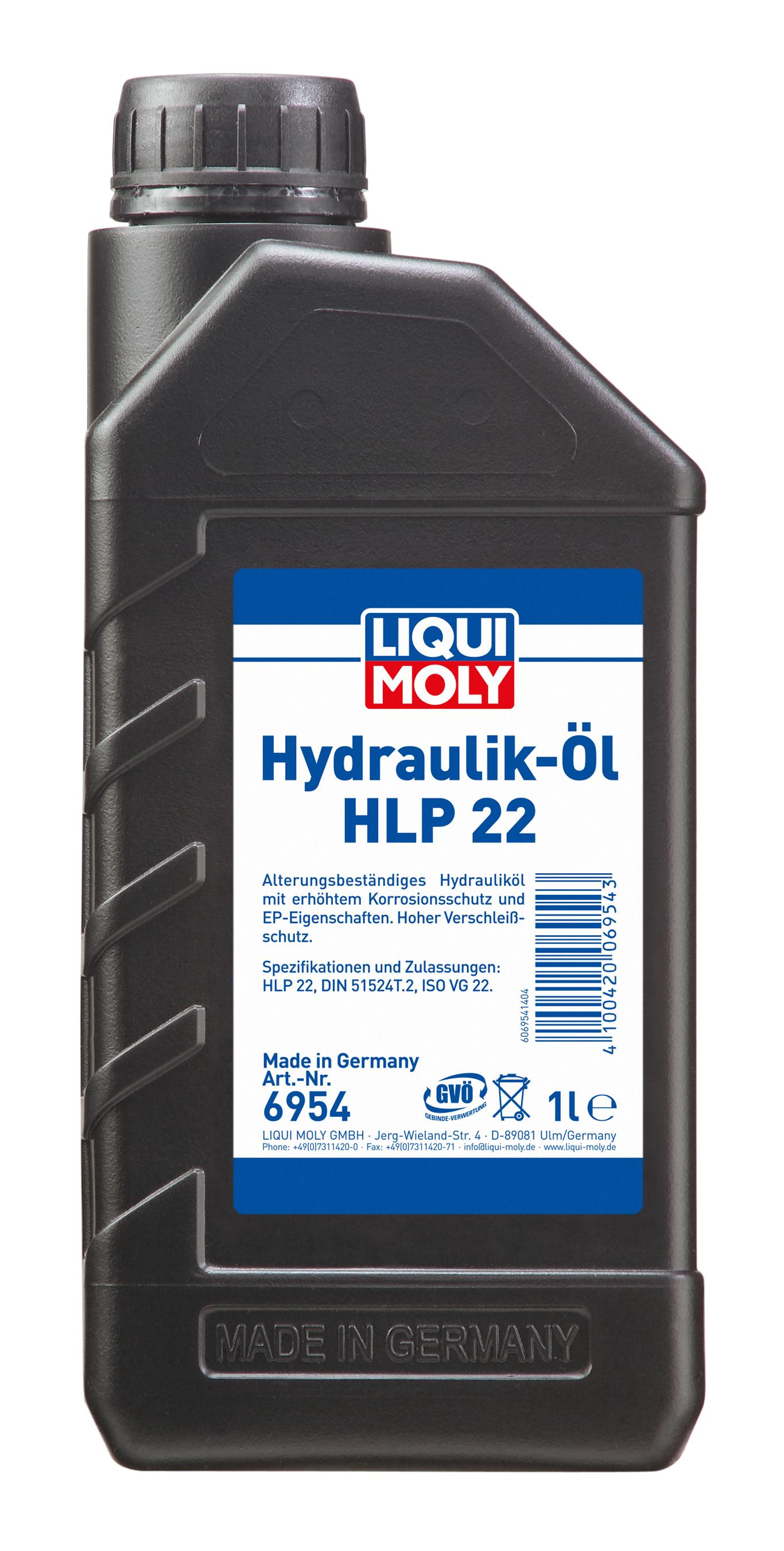 Liqui Moly Hydrauliköl HLP 22  1 Liter Bild 1