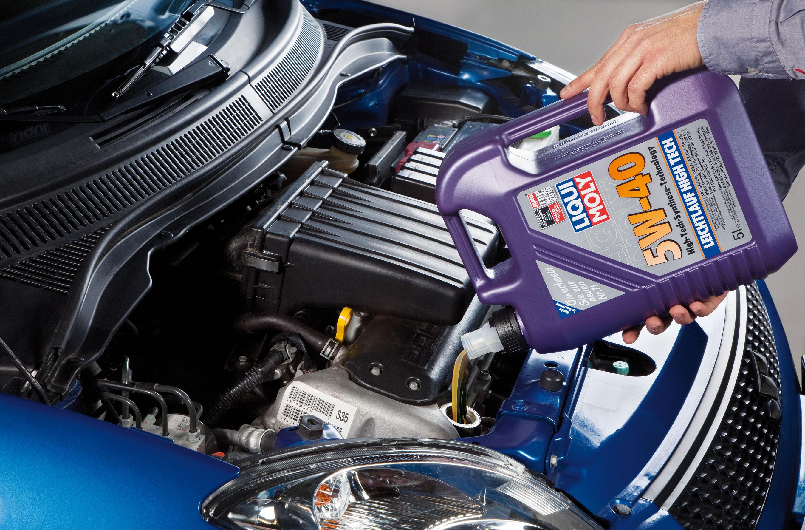 Liqui Moly Leichtlaufmotoröl Leichtlauf HighTech 5W-40 5 Liter Bild 2