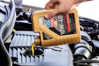Liqui Moly Mineralisches Leichtlaufmotoröl 10W-40 1 Liter Bild 2